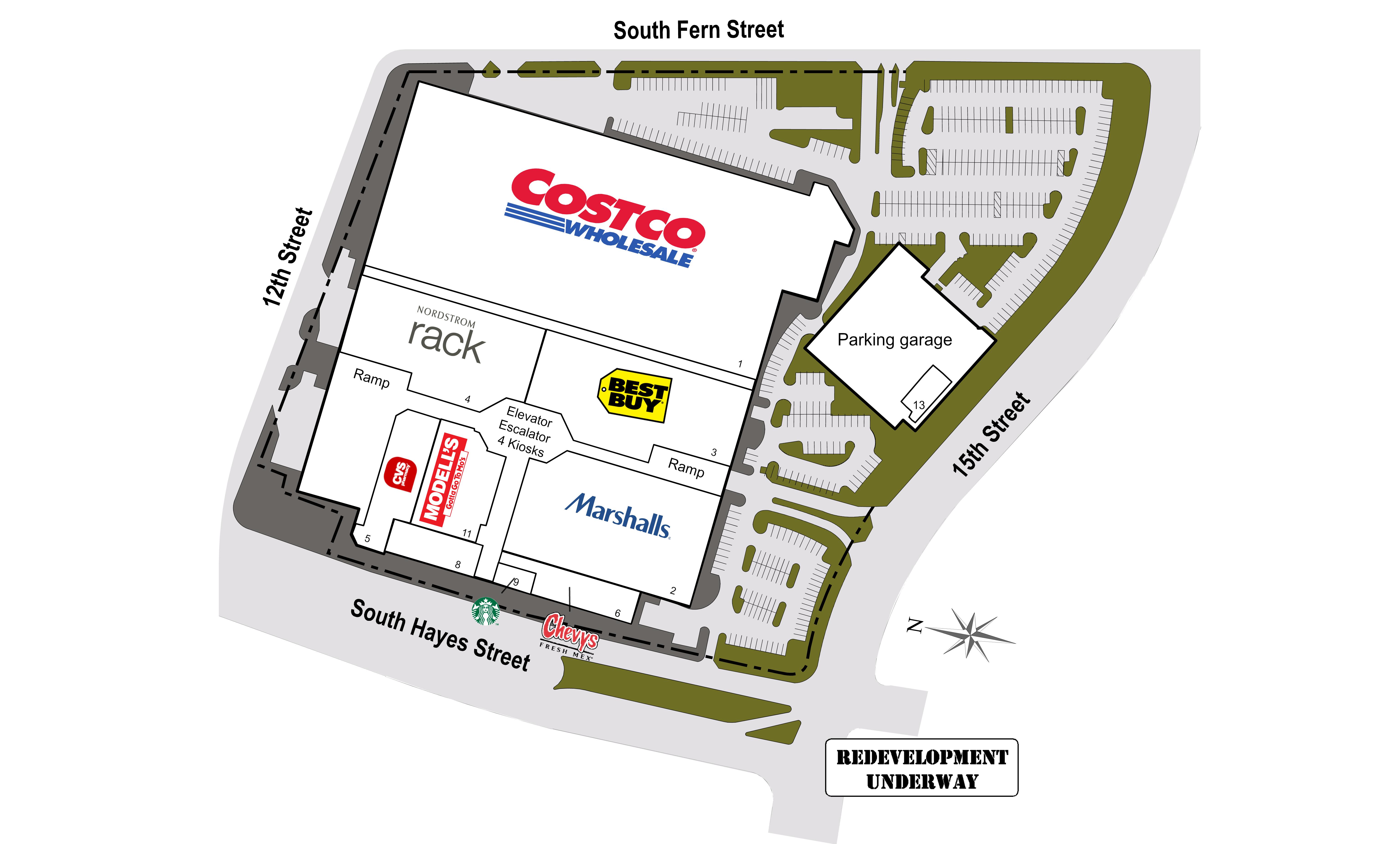 Pentagon City VA: Pentagon Centre - Retail Space - Kimco Realty